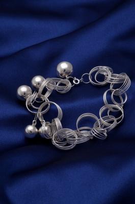 Stříbrný náramek NRS017