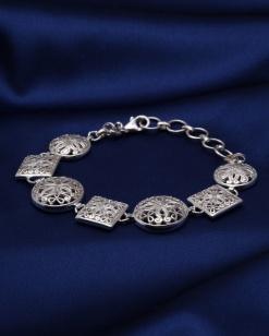 Stříbrný náramek NRS025
