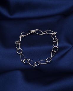Stříbrný náramek NRS031 - 20 cm