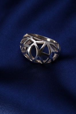 Stříbrný prsten PS002