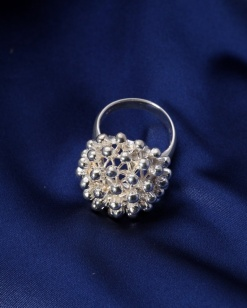 Stříbrný prsten PS014