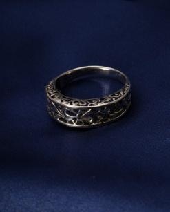 Stříbrný prsten PS020