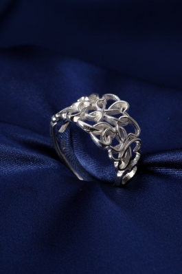 Stříbrný prsten PS029