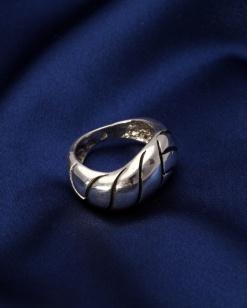 Stříbrný prsten PS048