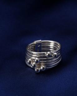 Stříbrný prsten PS051