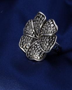 Stříbrný prsten PS053
