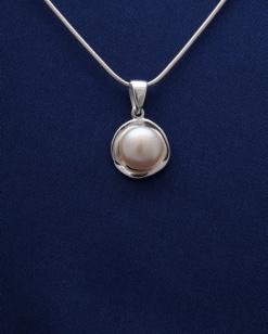 Stříbrný přívěsek s perlou PVP006
