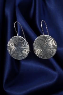 Stříbrné náušnice NS057