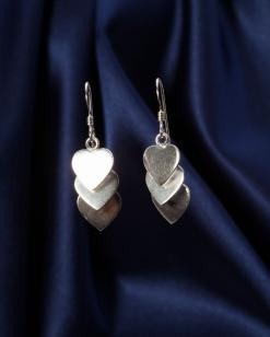 Stříbrné náušnice NS082