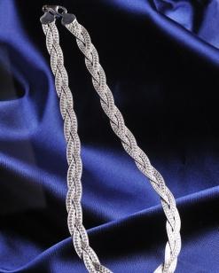 Stříbrný náhrdelník NHS008