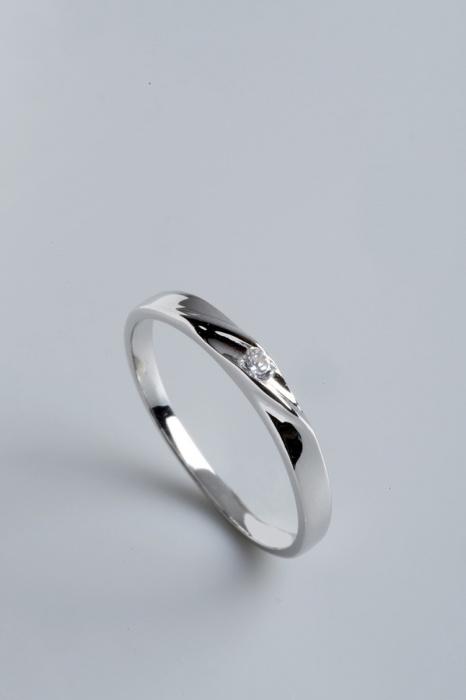 Stříbrný prsten s kubickým zirkonem PK058  37cae75768d