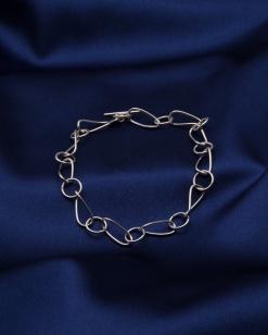 Stříbrný náramek NRS031 - 22 cm